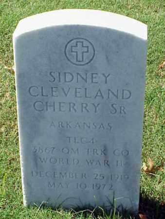 CHERRY, SR (VETERAN WWII), SIDNEY CLEVELAND - Pulaski County, Arkansas | SIDNEY CLEVELAND CHERRY, SR (VETERAN WWII) - Arkansas Gravestone Photos