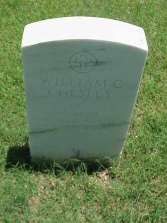 CHESLEY (VETERAN WWII), WILLIAM C - Pulaski County, Arkansas | WILLIAM C CHESLEY (VETERAN WWII) - Arkansas Gravestone Photos