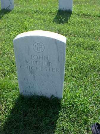 CHICHESTER (VETERAN WWII), JOHN ARTHUR - Pulaski County, Arkansas | JOHN ARTHUR CHICHESTER (VETERAN WWII) - Arkansas Gravestone Photos