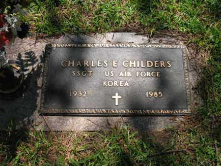 CHILDERS (VETERAN KOR), CHARLES EDWARD - Pulaski County, Arkansas | CHARLES EDWARD CHILDERS (VETERAN KOR) - Arkansas Gravestone Photos