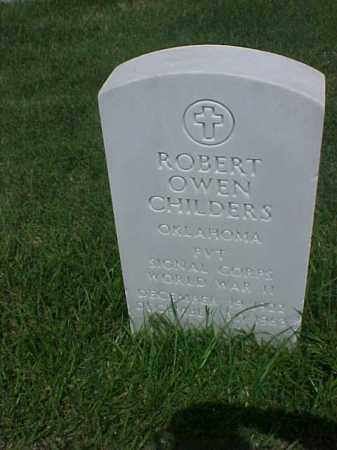 CHILDERS (VETERAN WWII), ROBERT OWEN - Pulaski County, Arkansas | ROBERT OWEN CHILDERS (VETERAN WWII) - Arkansas Gravestone Photos