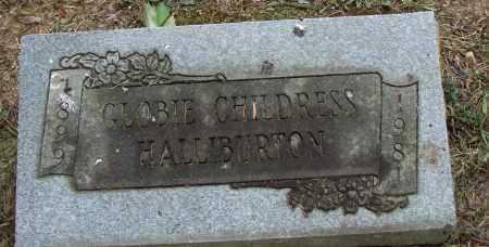 HALLIBURTON, GLOBIE - Pulaski County, Arkansas | GLOBIE HALLIBURTON - Arkansas Gravestone Photos