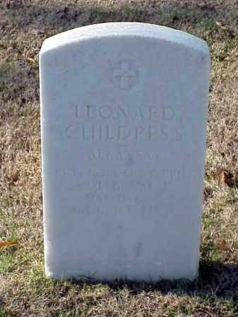 CHILDRESS (VETERAN WWI), LEONARD - Pulaski County, Arkansas | LEONARD CHILDRESS (VETERAN WWI) - Arkansas Gravestone Photos