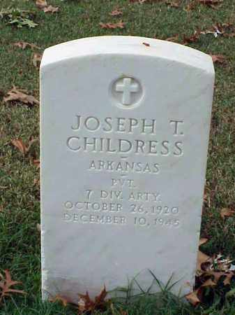 CHILDRESS (VETERAN WWII), JOSEPH T - Pulaski County, Arkansas | JOSEPH T CHILDRESS (VETERAN WWII) - Arkansas Gravestone Photos