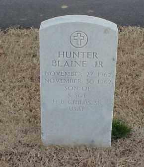 CHILDS, JR., HUNTER BLAINE - Pulaski County, Arkansas | HUNTER BLAINE CHILDS, JR. - Arkansas Gravestone Photos