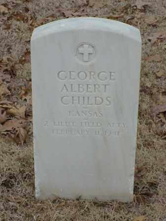 CHILDS (VETERAN WWI), GEORGE ALBERT - Pulaski County, Arkansas | GEORGE ALBERT CHILDS (VETERAN WWI) - Arkansas Gravestone Photos