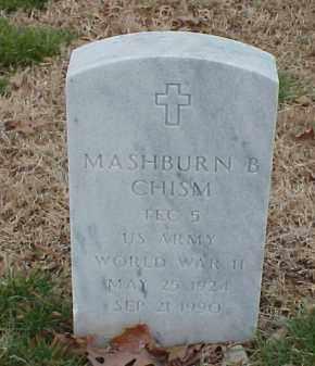 CHISM  (VETERAN WWII), MASHBURN B - Pulaski County, Arkansas | MASHBURN B CHISM  (VETERAN WWII) - Arkansas Gravestone Photos