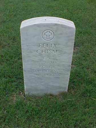 CHISM (VETERAN KOR), FELIX - Pulaski County, Arkansas | FELIX CHISM (VETERAN KOR) - Arkansas Gravestone Photos