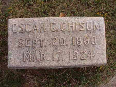 CHISUM, OSCAR C - Pulaski County, Arkansas | OSCAR C CHISUM - Arkansas Gravestone Photos