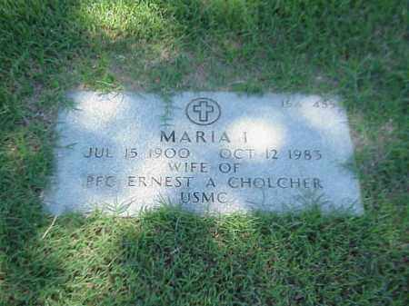CHOLCHER, MARIA I - Pulaski County, Arkansas | MARIA I CHOLCHER - Arkansas Gravestone Photos