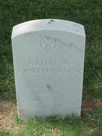 CHRISTENSEN (VETERAN KOR), KEITH M - Pulaski County, Arkansas | KEITH M CHRISTENSEN (VETERAN KOR) - Arkansas Gravestone Photos