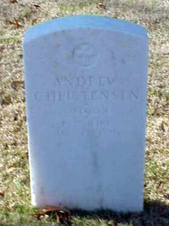 CHRISTENSEN (VETERAN UNION), ANDREW - Pulaski County, Arkansas | ANDREW CHRISTENSEN (VETERAN UNION) - Arkansas Gravestone Photos