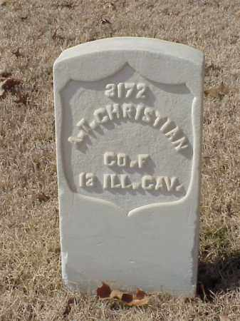 CHRISTIAN (VETERAN UNION), A T - Pulaski County, Arkansas   A T CHRISTIAN (VETERAN UNION) - Arkansas Gravestone Photos