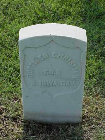CHRISTIAN (VETERAN UNION), GOTTLIEB - Pulaski County, Arkansas | GOTTLIEB CHRISTIAN (VETERAN UNION) - Arkansas Gravestone Photos