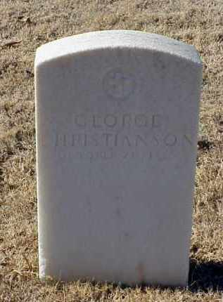 CHRISTIANSON, GEORGE - Pulaski County, Arkansas | GEORGE CHRISTIANSON - Arkansas Gravestone Photos