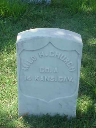 CHURCH (VETERAN UNION), MILO H - Pulaski County, Arkansas | MILO H CHURCH (VETERAN UNION) - Arkansas Gravestone Photos
