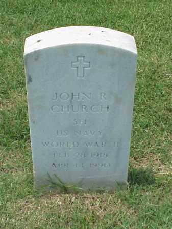CHURCH (VETERAN WWII), JOHN R - Pulaski County, Arkansas | JOHN R CHURCH (VETERAN WWII) - Arkansas Gravestone Photos