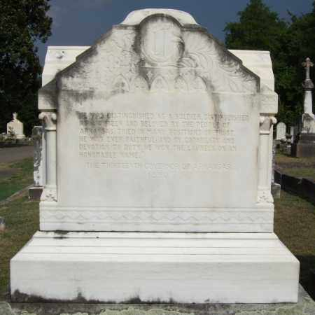 CHURCHILL (GOVERNOR), THOMAS JAMES (BACK) - Pulaski County, Arkansas | THOMAS JAMES (BACK) CHURCHILL (GOVERNOR) - Arkansas Gravestone Photos
