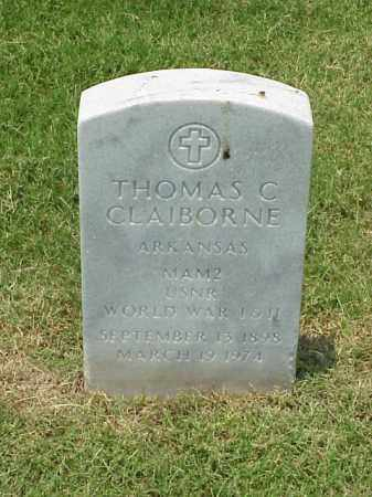 CLAIBORNE (VETERAN 2 WARS), THOMAS C - Pulaski County, Arkansas | THOMAS C CLAIBORNE (VETERAN 2 WARS) - Arkansas Gravestone Photos