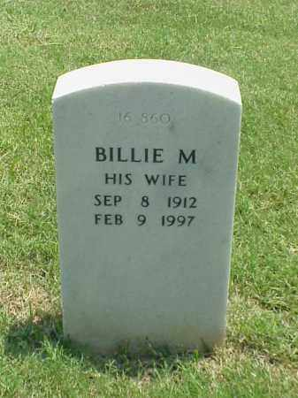 CLAPPER, BILLIE M - Pulaski County, Arkansas | BILLIE M CLAPPER - Arkansas Gravestone Photos