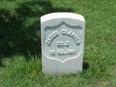 CLAPPER (VETERAN UNION), JACOB - Pulaski County, Arkansas | JACOB CLAPPER (VETERAN UNION) - Arkansas Gravestone Photos