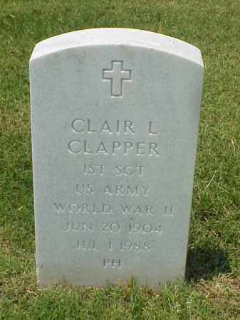 CLAPPER (VETERAN WWII), CLAIR L - Pulaski County, Arkansas | CLAIR L CLAPPER (VETERAN WWII) - Arkansas Gravestone Photos