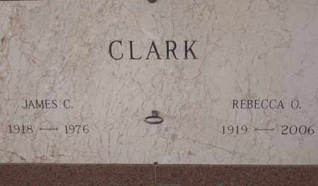 WOODS CLARK, REBECCA - Pulaski County, Arkansas | REBECCA WOODS CLARK - Arkansas Gravestone Photos
