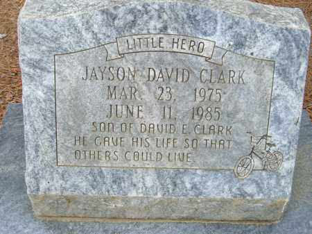 CLARK, JAYSON DAVID - Pulaski County, Arkansas | JAYSON DAVID CLARK - Arkansas Gravestone Photos