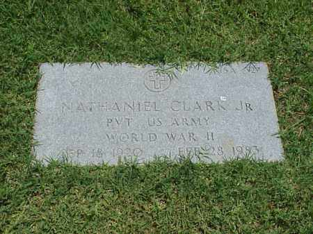 CLARK, JR (VETERAN WWII), NATHANIEL - Pulaski County, Arkansas | NATHANIEL CLARK, JR (VETERAN WWII) - Arkansas Gravestone Photos