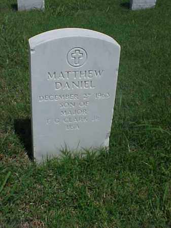 CLARK, MATTHEW DANIEL - Pulaski County, Arkansas | MATTHEW DANIEL CLARK - Arkansas Gravestone Photos