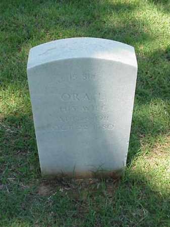 CLARK, ORA L - Pulaski County, Arkansas | ORA L CLARK - Arkansas Gravestone Photos