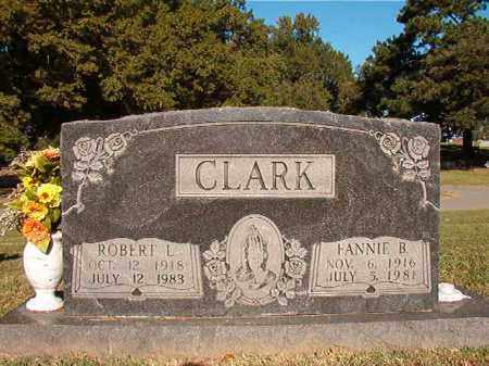 CLARK, FANNIE B - Pulaski County, Arkansas | FANNIE B CLARK - Arkansas Gravestone Photos