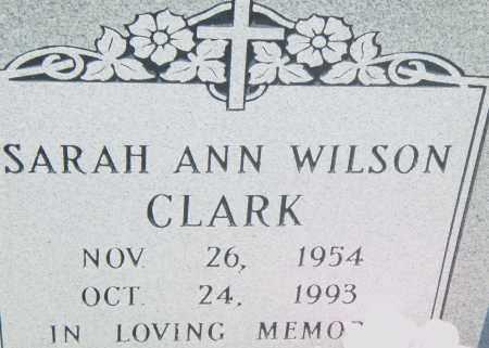 CLARK, SARAH ANN - Pulaski County, Arkansas | SARAH ANN CLARK - Arkansas Gravestone Photos