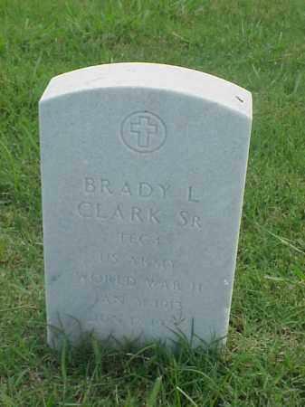 CLARK, SR (VETERAN WWII), BRADY L - Pulaski County, Arkansas | BRADY L CLARK, SR (VETERAN WWII) - Arkansas Gravestone Photos