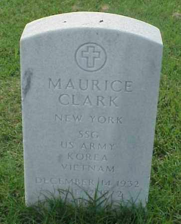 CLARK (VETERAN 2 WARS), MAURICE - Pulaski County, Arkansas | MAURICE CLARK (VETERAN 2 WARS) - Arkansas Gravestone Photos