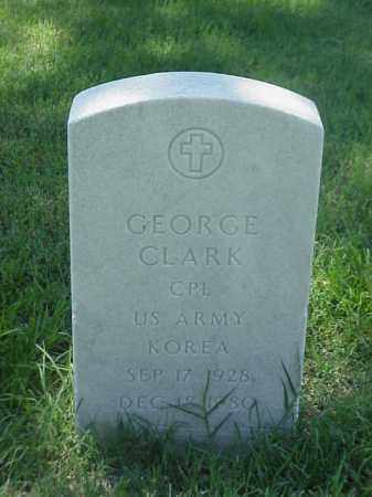 CLARK (VETERAN KOR), GEORGE - Pulaski County, Arkansas | GEORGE CLARK (VETERAN KOR) - Arkansas Gravestone Photos