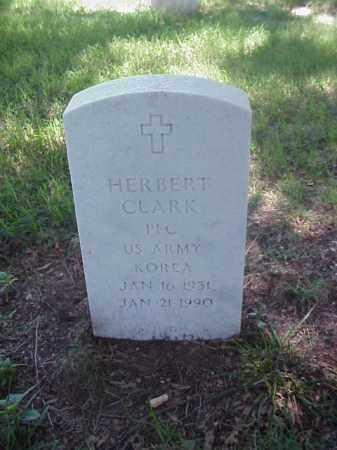 CLARK (VETERAN KOR), HERBERT - Pulaski County, Arkansas | HERBERT CLARK (VETERAN KOR) - Arkansas Gravestone Photos