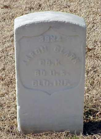 CLARK (VETERAN UNION), AARON - Pulaski County, Arkansas | AARON CLARK (VETERAN UNION) - Arkansas Gravestone Photos