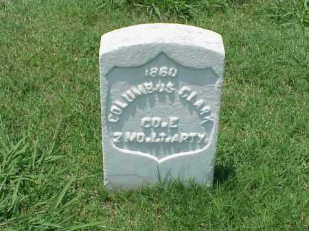 CLARK (VETERAN UNION), COLUMBUS - Pulaski County, Arkansas | COLUMBUS CLARK (VETERAN UNION) - Arkansas Gravestone Photos