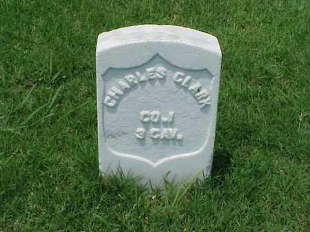 CLARK (VETERAN UNION), CHARLES - Pulaski County, Arkansas | CHARLES CLARK (VETERAN UNION) - Arkansas Gravestone Photos