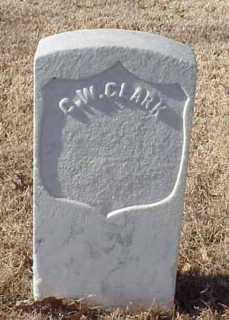 CLARK (VETERAN UNION), C W - Pulaski County, Arkansas | C W CLARK (VETERAN UNION) - Arkansas Gravestone Photos