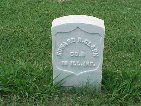 CLARK (VETERAN UNION), EDWARD R - Pulaski County, Arkansas | EDWARD R CLARK (VETERAN UNION) - Arkansas Gravestone Photos