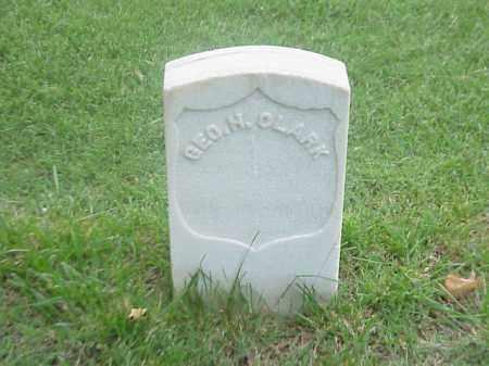 CLARK (VETERAN UNION), GEORGE H - Pulaski County, Arkansas | GEORGE H CLARK (VETERAN UNION) - Arkansas Gravestone Photos