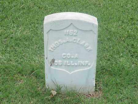 CLARK (VETERAN UNION), THOMAS A - Pulaski County, Arkansas | THOMAS A CLARK (VETERAN UNION) - Arkansas Gravestone Photos