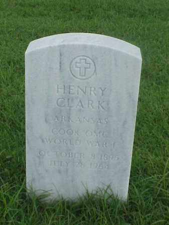 CLARK (VETERAN WWI), HENRY - Pulaski County, Arkansas | HENRY CLARK (VETERAN WWI) - Arkansas Gravestone Photos