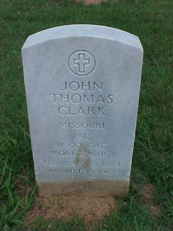 CLARK (VETERAN WWI), JOHN THOMAS - Pulaski County, Arkansas | JOHN THOMAS CLARK (VETERAN WWI) - Arkansas Gravestone Photos