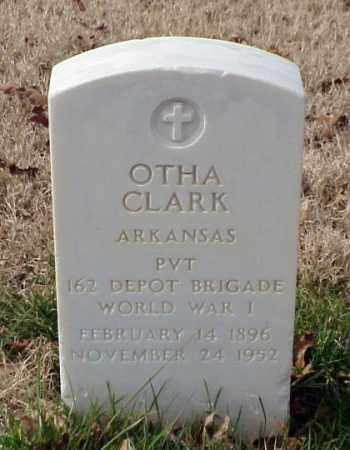 CLARK (VETERAN WWI), OTHA - Pulaski County, Arkansas | OTHA CLARK (VETERAN WWI) - Arkansas Gravestone Photos
