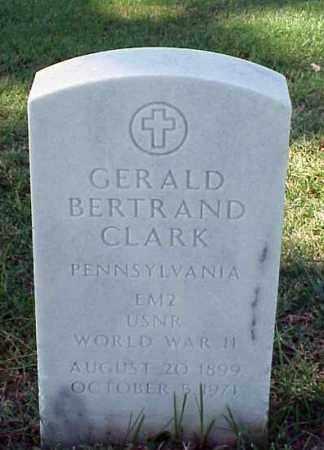 CLARK (VETERAN WWII), GERALD BERTRAND - Pulaski County, Arkansas | GERALD BERTRAND CLARK (VETERAN WWII) - Arkansas Gravestone Photos