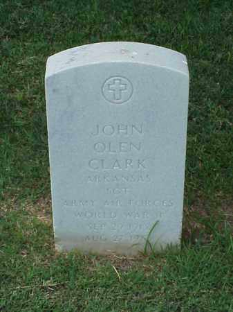 CLARK (VETERAN WWII), JOHN OLEN - Pulaski County, Arkansas | JOHN OLEN CLARK (VETERAN WWII) - Arkansas Gravestone Photos