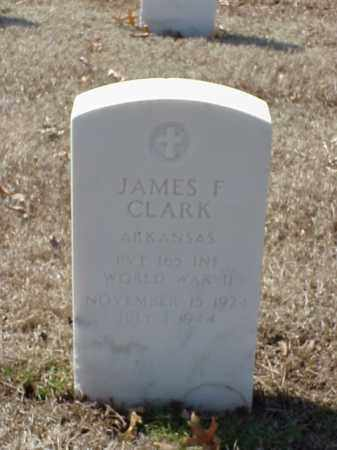 CLARK (VETERAN WWII), JAMES F - Pulaski County, Arkansas | JAMES F CLARK (VETERAN WWII) - Arkansas Gravestone Photos